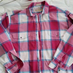 Perry Ellis Portfolio Long Sleeve Button up Size M